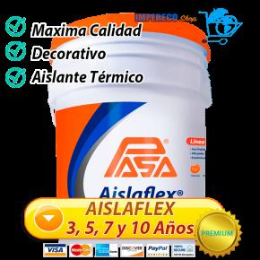 Impermeabilizantes Acrilicos Aislaflex 3, 5, 7 y 10 Años de Duracion.